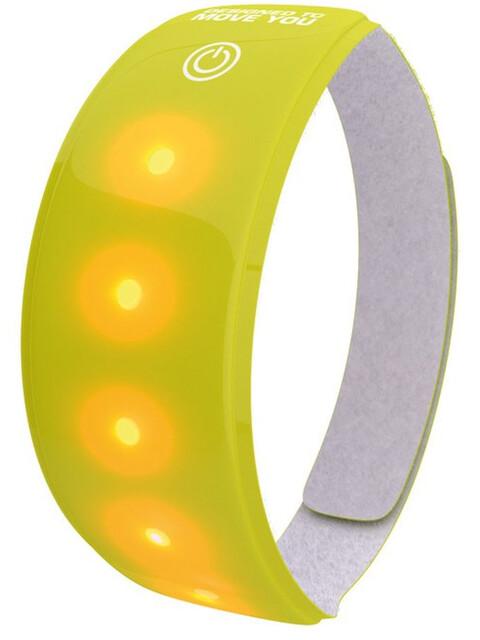 Wowow Lyftebånd 5 LED 3M med velcrolukning gul